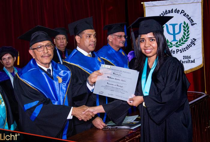Ceremonia de Graduación Psicología septiembre 2019,
