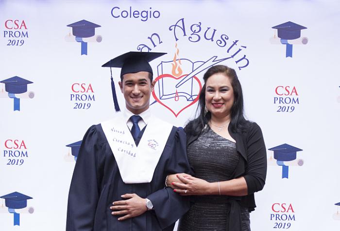 Ceremonia de Graduación del Colegio San Agustín 2019,